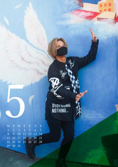 松岡充 2017年 オフィシャルカレンダー「SEVEN PIECE OF TIME 2017」<A ver.>