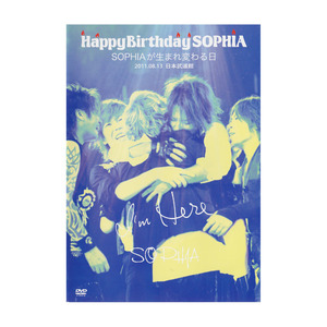"【LIVE DVD】SOPHIA LIVE 2011「""HAPPY BIRTHDAY SOPHIA""  SOPHIAが生まれ変わる日」"
