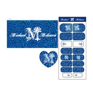 【MICHAEL LIVE 2015 Archangel】ヒョウ柄ジッパーポーチ&MITSURUネイル&♥型ネイルファイル