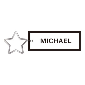 【MICHAEL LIVE 2013 Holy night from archangel 第零章】星型チャーム・キーリング