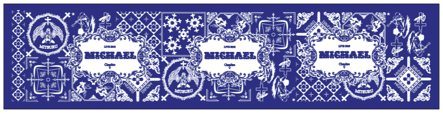 <MICHAEL LIVE 2018 第五章> シュシュ(アクリル製チャーム付き)