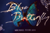 <MICHAEL TOUR 2019 Blue Butterfly> 【松岡】ポストカード&ステッカーセット