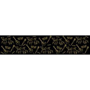 <MICHAEL TOUR 2018 荒野の二人> シュシュ<ブラック>チャーム付き