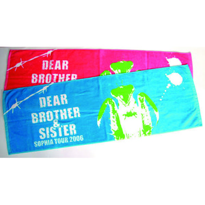 【TOUR 2006 Dear…Brother&Sister】スポーツタオル(ブルー) ¥3500➡¥2500キャンペーン価格!